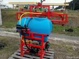 Навесной опрыскиватель 200 л для внесения пестицидов штанга - фото 5