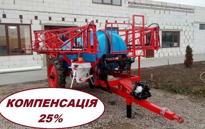 Опрыскиватель ОРП - 2000 штанга 21м - Компенсация 25%