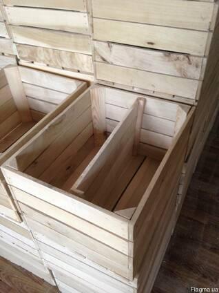 Опт изготовление деревянной тары - ящиков, горшков, коробок
