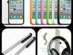 Оптом комплектующие и аксессуары к мобильным телефонам и др