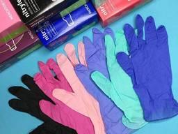 Оптом перчатки нитриловые медицинские одноразовые nitrylex