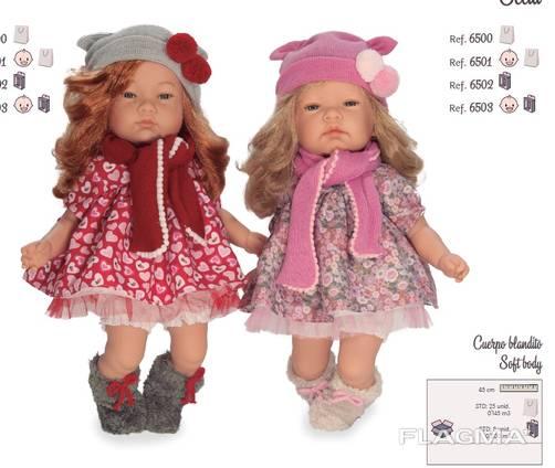 Оптовые поставки куклы и пупсы Nines D'Onil из Испании
