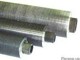 Оребрение труб моно-биметаллических на накатных станках