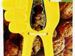 Орехокол рука желтый ( щипцы для орехов )