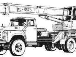Оренда Автокран КС 3575А , телескоп, в/п: 10 т
