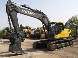 Оренда екскаватора Рівне / Volvo 160 19-тонний екскаватор