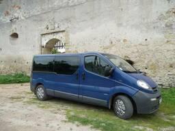 Оренда мікроавтобуса Пасажирские перевозки Украине и Европе