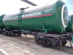 Оренда вагонів-цистерн для перевезення харчових продуктів