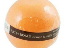 Organique шипучий шар для ванны апельсин и чили 170г