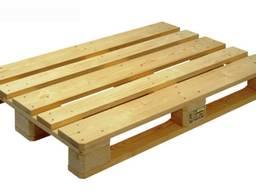 Организация продает деревянные поддоны 1200х800, 1200х1000
