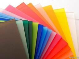 Оргстекло цветное литое (акрил) распродажа остатков