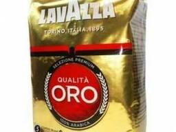 Оригинальный кофе в зернах Lavazza Qualita Oro 1 кг.