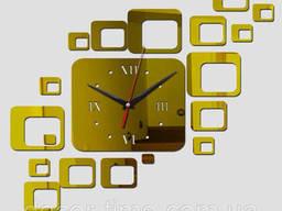 Оригинальные интерьерные часы на стену, декоративные. ..