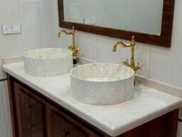 Оригинальные кухонные раковины из камня ручной работы