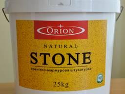 ORION Натуральная гранитно-мраморная штукатурка 25 кг