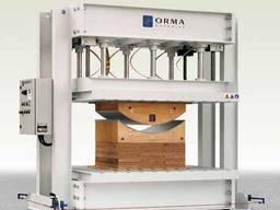 Orma PFS 80 HF - пресс для изготовления гнуто-клееных детале