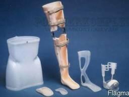 Ортопедические листовые пластики PP, PE, PETG и EVA