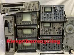 Осциллограф, вольтметр, генератор, частотомер, Кип,