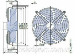 Осевой вентилятор Ziehl-Abegg FN063-SDK. 4I. V7P1