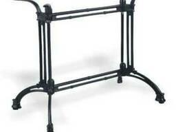 Основание для прямоугольного стола из чугуна Дабл Рэй