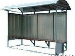 Остановочный комплекс (стандарт) 3500х1500