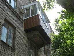 Остекление балконов и лоджий под ключ в Мариуполе