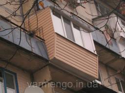 Остекление балконов. Утепление балконов. Французский балкон. - фото 1