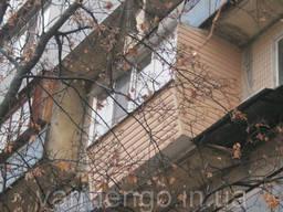 Остекление балконов. Утепление балконов. Французский балкон. - фото 2