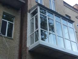 Остекление балконов. Утепление балконов. Французский балкон. - фото 4