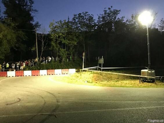 Осветительная мачта-вышка - 9 метров Luxtower M12 (Италия)