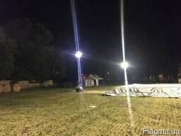 Осветительные вышки-мачты с дизельным генератором