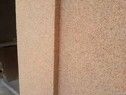 Отделка фасада короедом и мраморной штукатуркой в Феодосии - фото 4