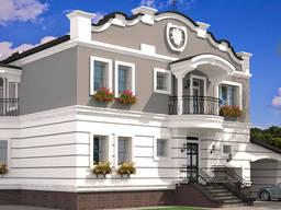 Отделка и реставрация фасадов