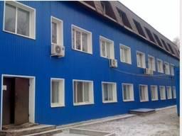 Отделка (облицовка) фасада профнастилом