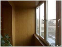 Отделка, обшивка, утепление балконов и лоджий под ключ.