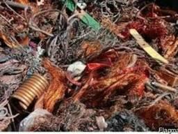 Отходы медного кабеля