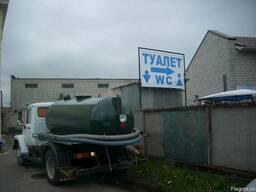 Откачка туалетов, биотуалетов в Киеве