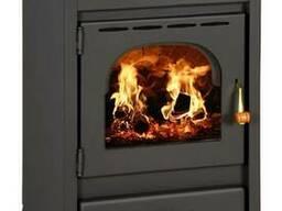Отопительно-варочная печь на дровах Prity K1R (евробуржуйка)