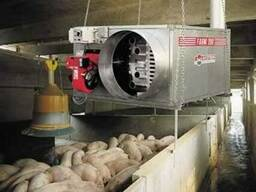 отопление ферм, птичника, теплиц