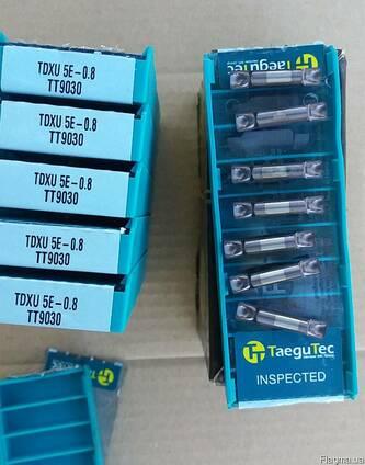 Отрезная пластина TaeguTec форма TDXU. TDC. TDJ. TDT