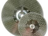 Отрезной круг мрамор зачистной М14 SD 2-Х сторон-й ∅125-230 - фото 1