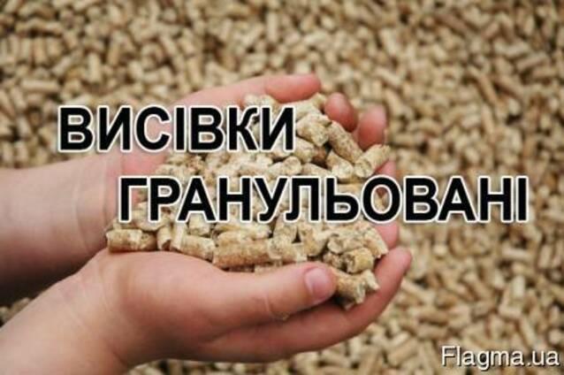 Отруби пшеничные гранулированные.