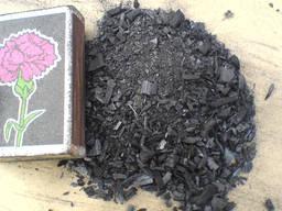 Отсев древесного угля
