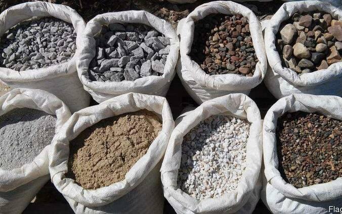 Отсев песок щебень в мешках пісок відсів щебінь цемент Доставка