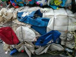 Отсортированные отходы ПНД