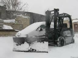 Отвал для уборки снега
