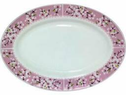 Овальное блюдо Цветение сакуры Ø35, 5 см Snt 30063-15017