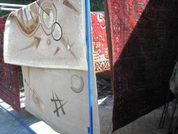 Оверлок ковров, ковровых дорожек и ковролина