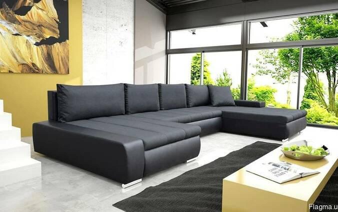 П образный диван с доставкой на дом. Прочные материалы