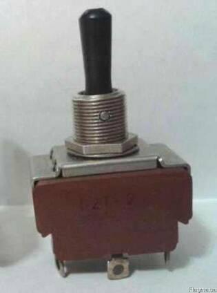П2Т-2(П2Т-1) тумблер флюоресцентный, новый (тч воен приёмка)